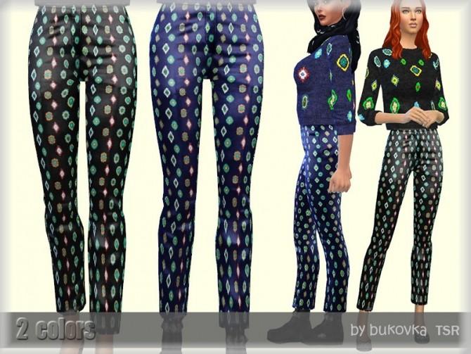 Sims 4 Female Pants by bukovka at TSR