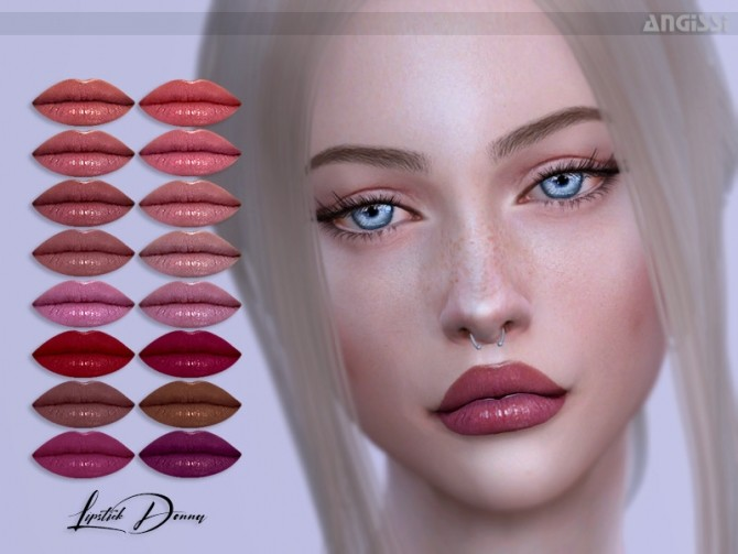 Sims 4 Donna Lipstick by ANGISSI at TSR