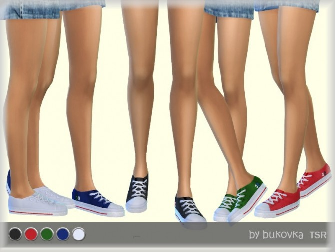 Sims 4 Sneakers 2 Female by bukovka at TSR