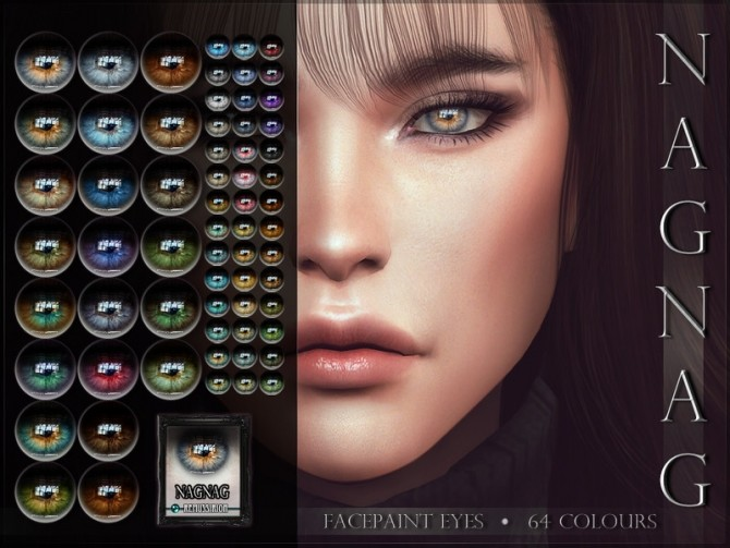 Sims 4 NAGNAG Eyes by RemusSirion at TSR