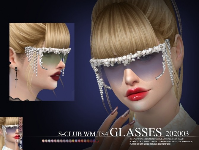 Glasses 202003 by S Club WM at TSR image 505 670x503 Sims 4 Updates