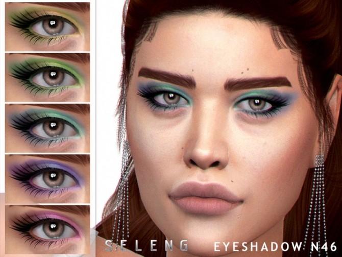 Sims 4 Eyeshadow N46 by Seleng at TSR