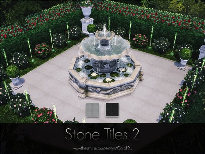 Sims 4 Stone Tiles 2 by Caroll91 at TSR