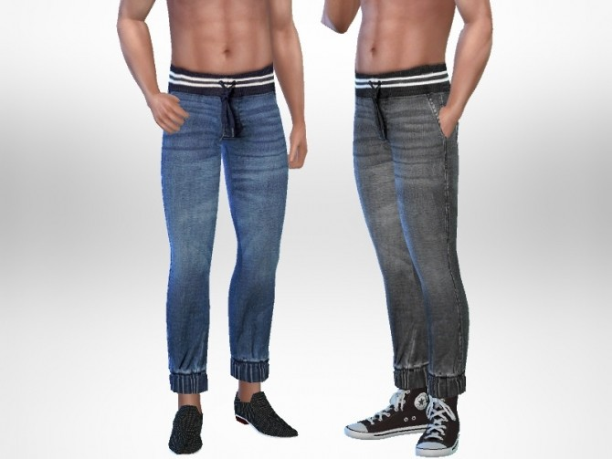 Sims 4 Horacio Jeans by Puresim at TSR