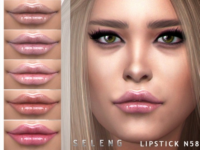 Sims 4 Lipstick N58 by Seleng at TSR