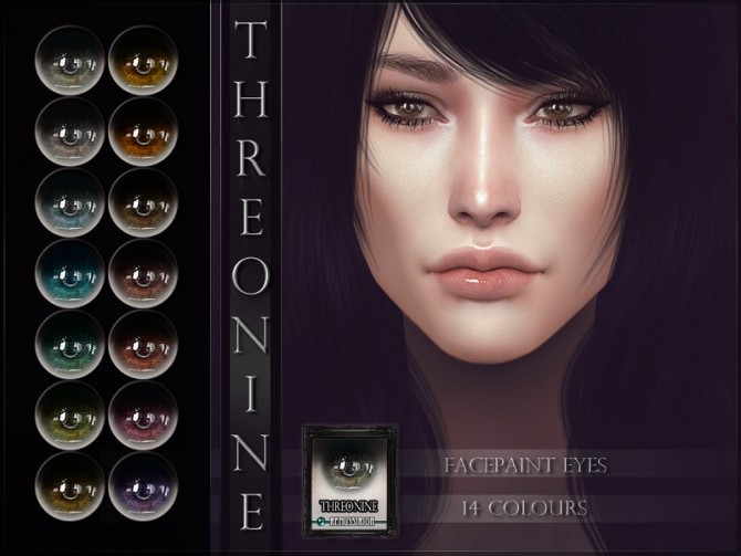 Sims 4 Threonine Eyes by RemusSirion at TSR