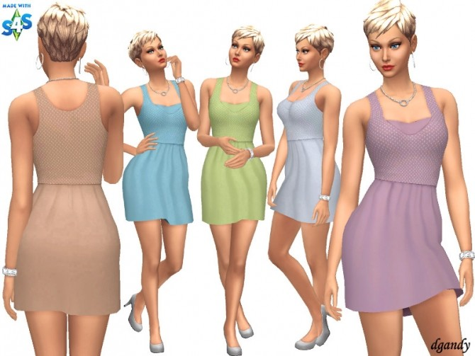 Sims 4 Dress 20200405 by dgandy at TSR