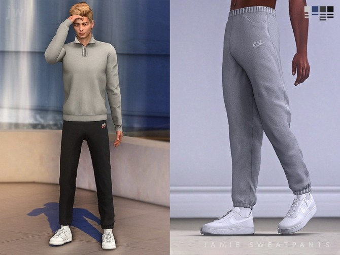 Sims 4 Jamie sweatpants by jwofles sims at TSR