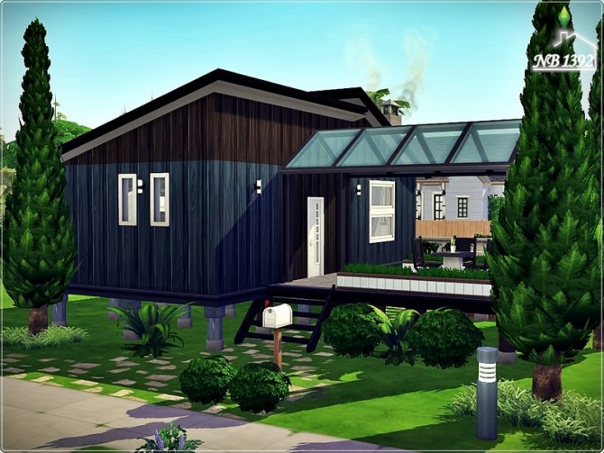 Small safe Space house by nobody1392 at TSR image 580 670x503 Sims 4 Updates