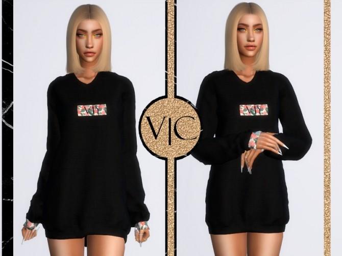 MOLETOM A I dress by Viy Sims at TSR image 5815 670x503 Sims 4 Updates