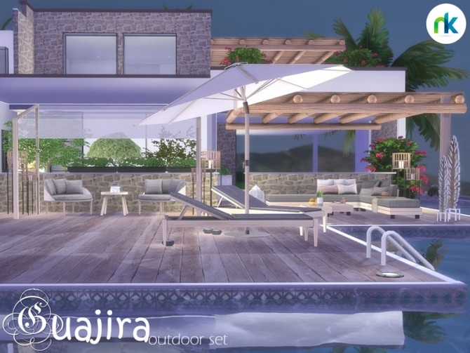 Guajira Outdoor Part Two by Nikadema at TSR image 608 670x503 Sims 4 Updates