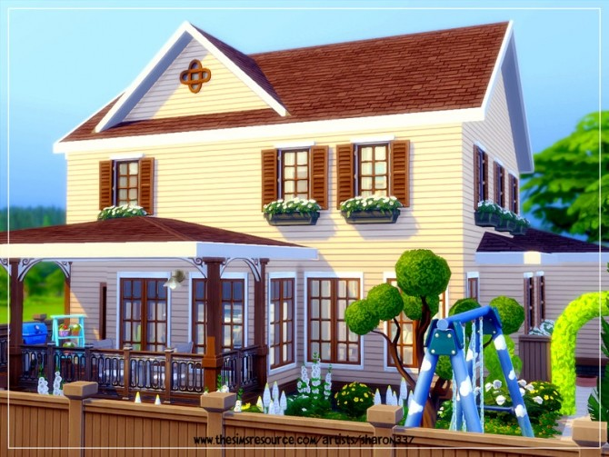 Sims 4 Valetta house Nocc by sharon337 at TSR