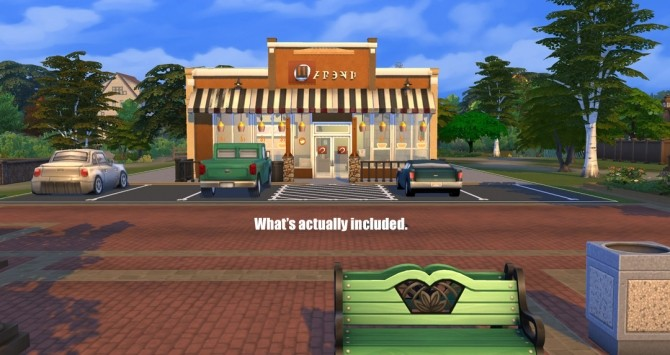 Biggby Coffee of Big Rapids by BulldozerIvan at Mod The Sims image 622 670x355 Sims 4 Updates