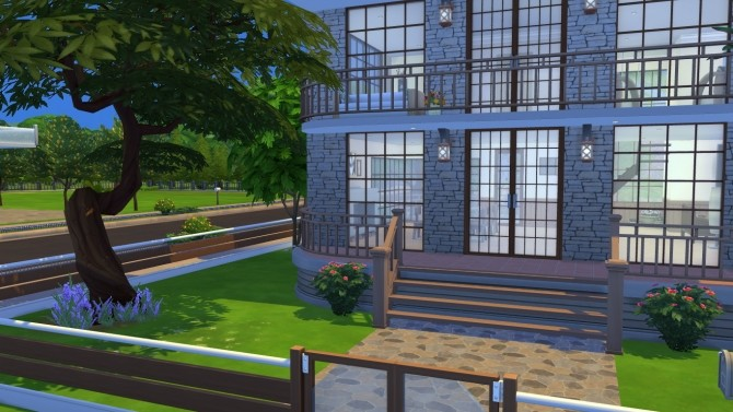Sims 4 Big Fancy House by xperimental.sim at Mod The Sims