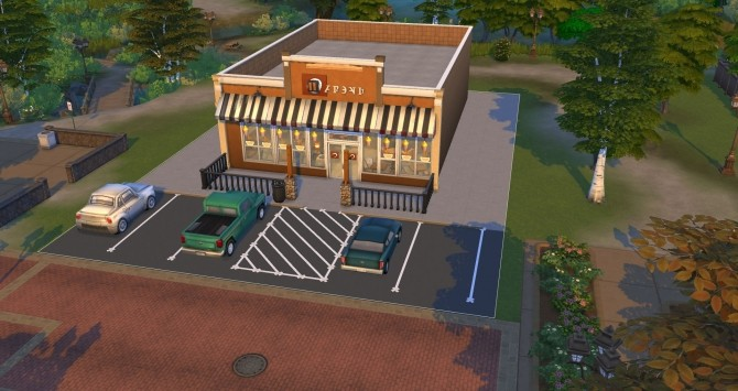 Biggby Coffee of Big Rapids by BulldozerIvan at Mod The Sims image 632 670x355 Sims 4 Updates