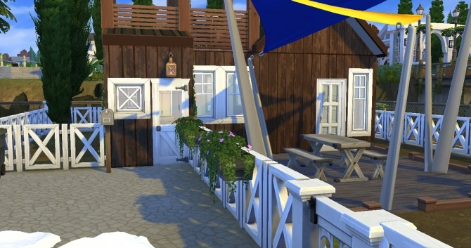 Sims 4 Micro house by valbreizh at Mod The Sims