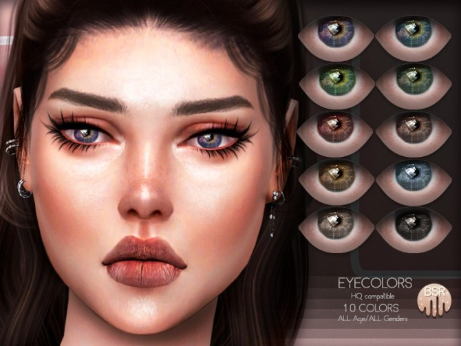 Sims 4 Eyecolors BES21 by busra tr at TSR