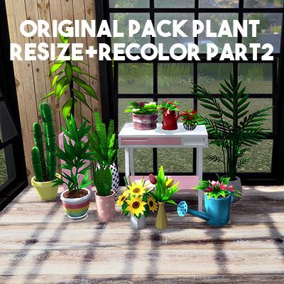 Sims 4 Original Pack Plant recolor part 2 at L.Sim