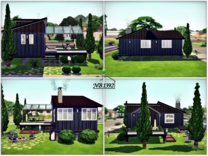Small safe Space house by nobody1392 at TSR image 680 670x503 Sims 4 Updates