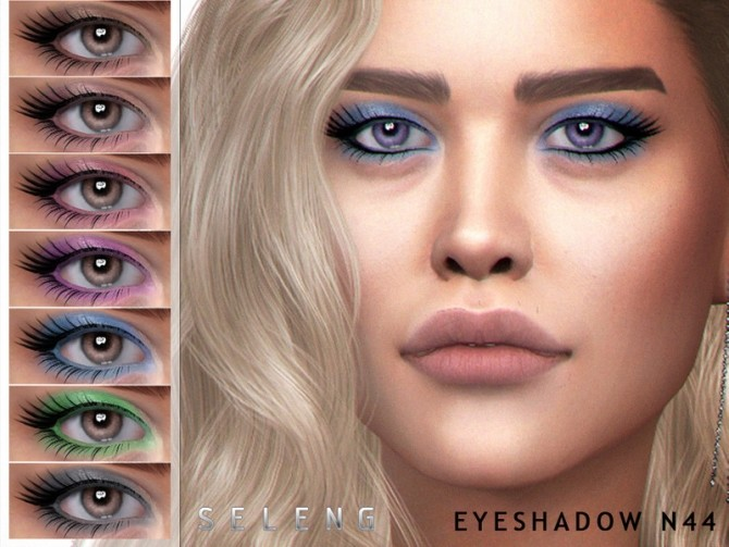 Eyeshadow N44 by Seleng at TSR image 68101 670x503 Sims 4 Updates
