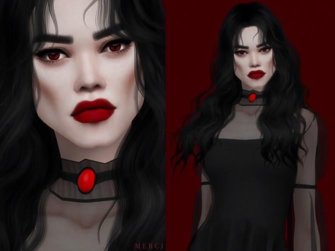 Sims 4 Female Vampire Skin by Merci at TSR