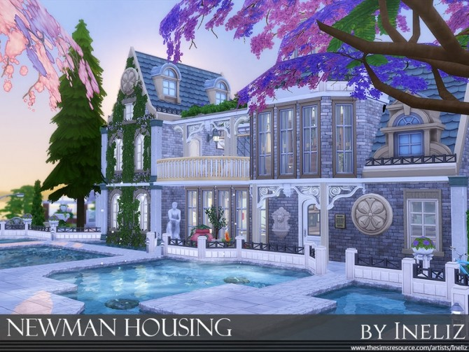 Newman Housing by Ineliz at TSR image 7104 670x503 Sims 4 Updates