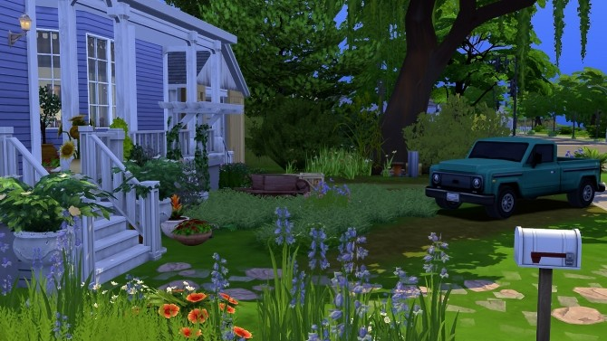 Sims 4 GILMORE GIRLS HOUSE at Mrs.MilkiSims