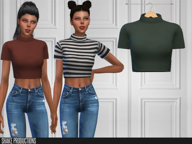 421 Top by ShakeProductions at TSR image 7121 670x503 Sims 4 Updates