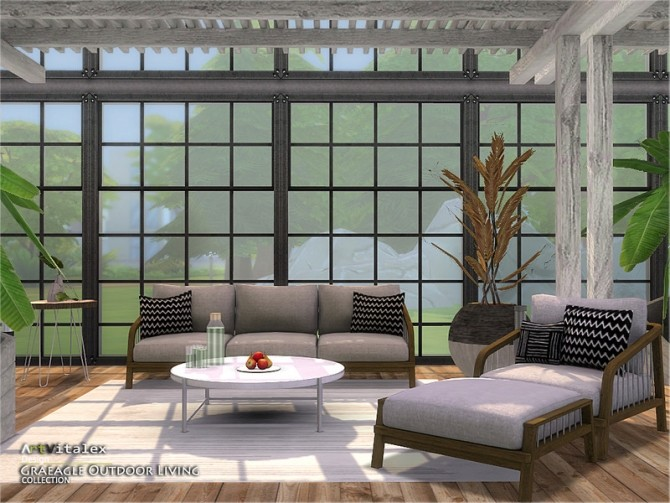 Graeagle Outdoor Living by ArtVitalex at TSR image 7312 670x503 Sims 4 Updates