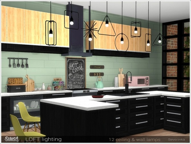 Loft lighting by Severinka at TSR image 7316 670x503 Sims 4 Updates