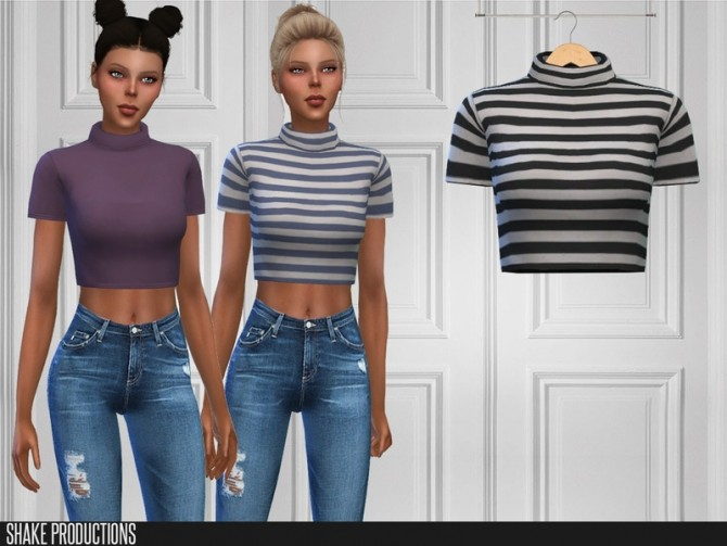421 Top by ShakeProductions at TSR image 7317 670x503 Sims 4 Updates