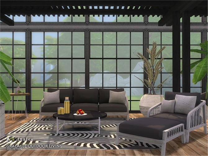 Graeagle Outdoor Living by ArtVitalex at TSR image 7411 670x503 Sims 4 Updates