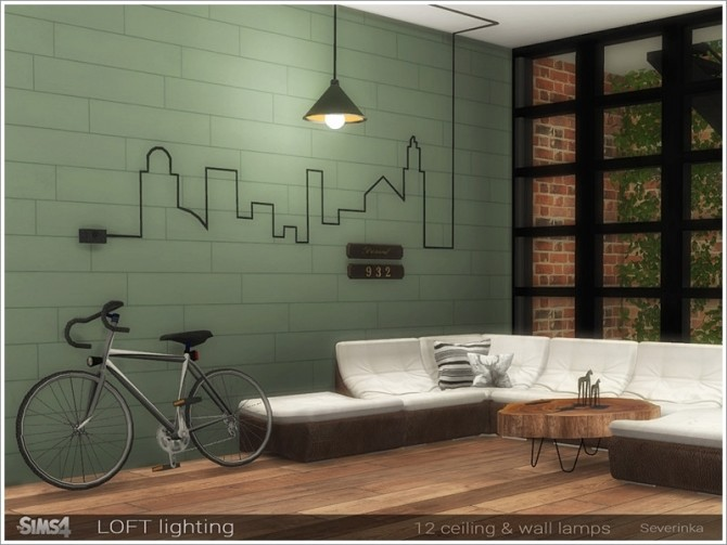 Loft lighting by Severinka at TSR image 7415 670x503 Sims 4 Updates