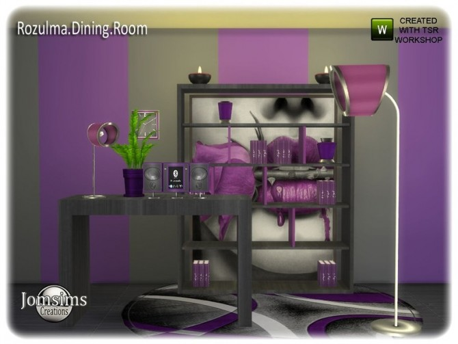Rozulma Dining room part 2 by jomsims at TSR image 7420 670x503 Sims 4 Updates