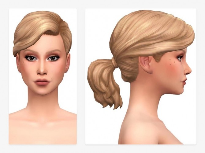 Rain Hair by Nords at TSR image 7512 670x503 Sims 4 Updates