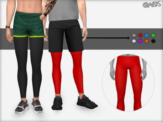 Sims 4 Sport Leggings by OranosTR at TSR