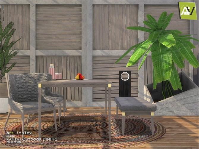Kansas Outdoor Dining by ArtVitalex at TSR image 7612 670x503 Sims 4 Updates