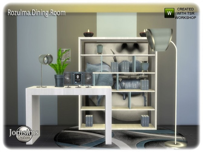 Rozulma Dining room part 2 by jomsims at TSR image 7620 670x503 Sims 4 Updates