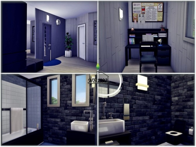 Small safe Space house by nobody1392 at TSR image 770 670x503 Sims 4 Updates