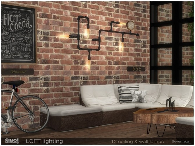 Loft lighting by Severinka at TSR image 7714 670x503 Sims 4 Updates