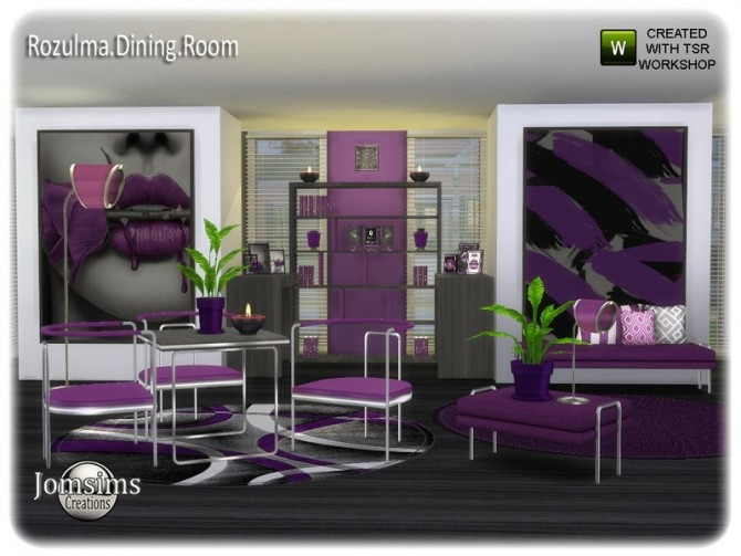 Rozulma Dining room by jomsims at TSR image 7718 670x503 Sims 4 Updates