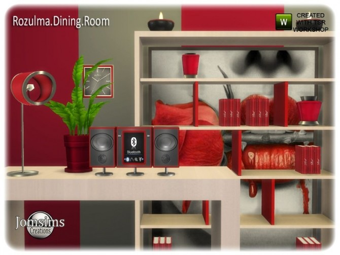 Rozulma Dining room part 2 by jomsims at TSR image 7719 670x503 Sims 4 Updates