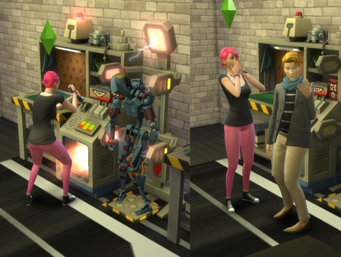 Sims 4 Humanized Servos by SweeneyTodd at Mod The Sims