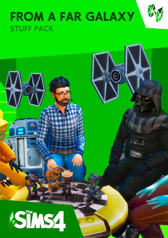 Sims 4 From a Far Galaxy stuff pack by Stanislav at Mod The Sims