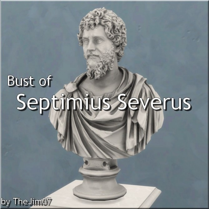 Bust of Septimius Severus by TheJim07 at Mod The Sims image 7813 670x670 Sims 4 Updates