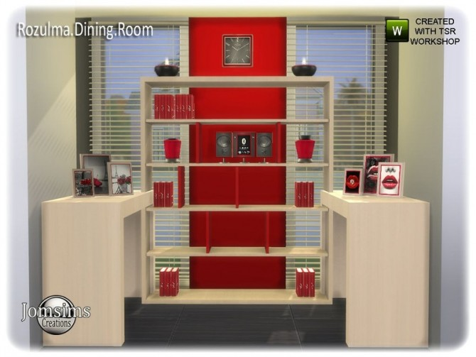 Rozulma Dining room by jomsims at TSR image 7818 670x503 Sims 4 Updates