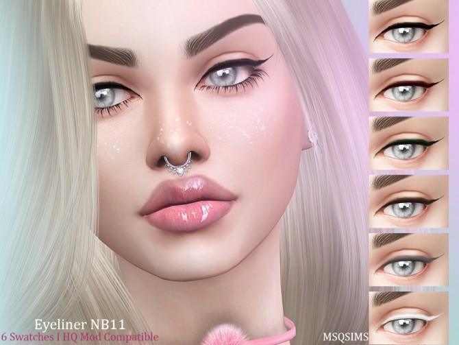 Eyeliner NB11 at MSQ Sims image 785 670x503 Sims 4 Updates