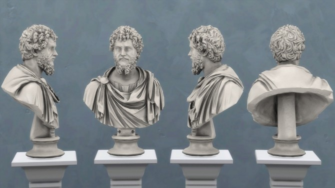 Bust of Septimius Severus by TheJim07 at Mod The Sims image 7913 670x377 Sims 4 Updates