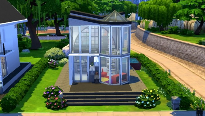 Sims 4 Mini House by valbreizh at Mod The Sims