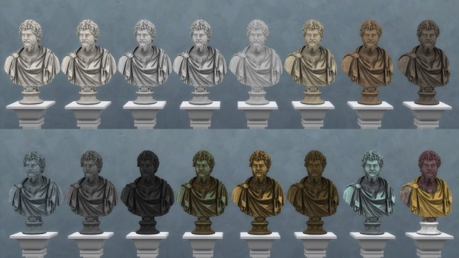 Bust of Septimius Severus by TheJim07 at Mod The Sims image 8013 670x377 Sims 4 Updates